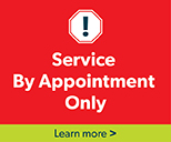 Service By Appointment Branch Hours