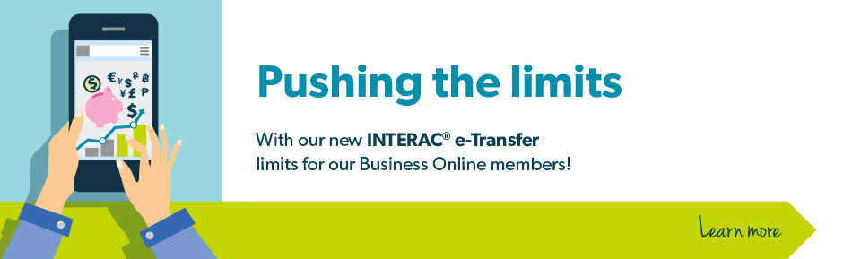 New Interac e-transfer Limits