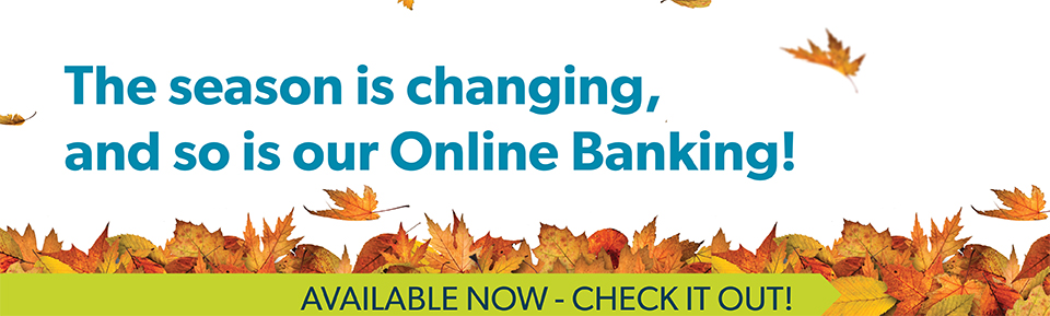 Online Banking Changes